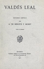 Cover of: Valdés Leal