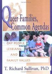 Cover of: Queer Families, Common Agendas