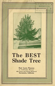 Cover of: The best shade tree | East Lawn Nursery