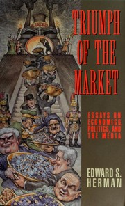 Cover of: Triumph of the market | Edward S. Herman