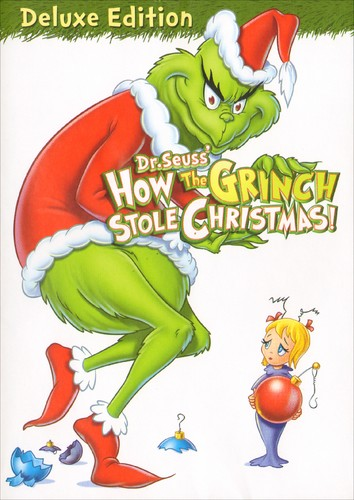 How The Grinch Stole Christmas Book Cover.Dr Seuss How The Grinch Stole Christmas Dvd 2008