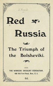 Cover of: Red Russia