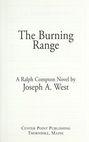 Cover of: The burning range