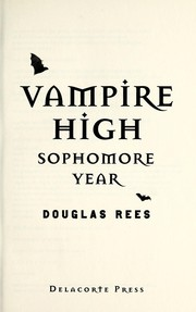Cover of: Vampire High | Douglas Rees