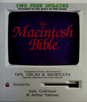 Cover of: The Macintosh bible