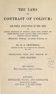 Cover of: The laws of contrast of colour