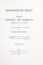 Cover of: Twenty etchings and woodcuts reproduced in fac-simile