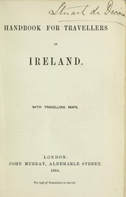 Cover of: Handbook for travellers in Ireland