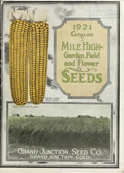 Cover of: 1921 catalog | Grand Junction Seed Co