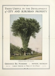 Cover of: Trees useful in the development of city and suburban property