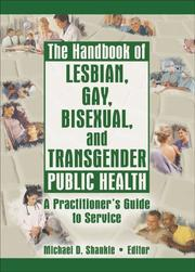 Cover of: The Handbook of Lesbian, Gay, Bisexual, And Transgender Public Health