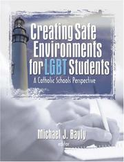 Cover of: Creating Safe Environments for Lgbt Students