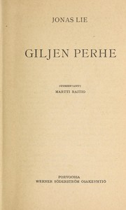 Cover of: Giljen perhe