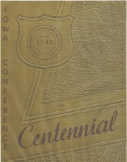 Cover of: The Iowa Conference centennial, 1853-1953 | Gerald A. Wolter