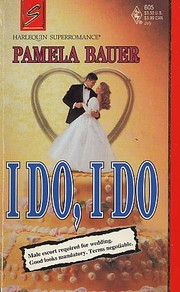 Cover of: I Do, I Do