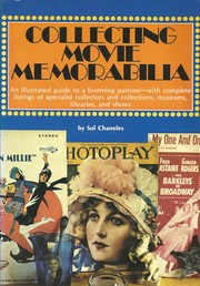Cover of: Collecting movie memorabilia