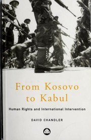 Cover of: From Kosovo to Kabul | Chandler, David