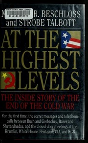 Cover of: At the highest levels | Michael R. Beschloss