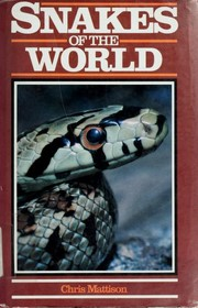 Cover of: Snakes of the world