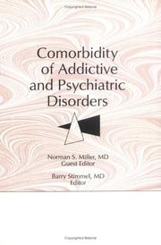 Cover of: Comorbidity of addictive and psychiatric disorders