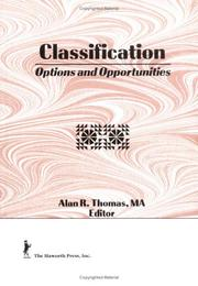 Cover of: Classification