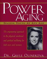 Cover of: Power aging | Gayle Olinekova