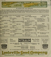 Cover of: Gold medal field seeds [price list] | Louisville Seed Company