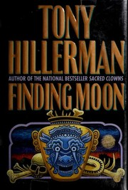Cover of: Finding moon | Tony Hillerman.