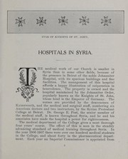 Cover of: Hospitals in Syria | Woman