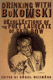 Cover of: Drinking with Bukowski
