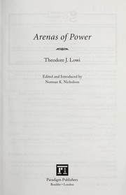 Arenas of Power