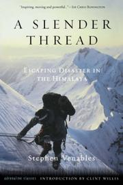 Cover of: A Slender Thread | Stephen Venables