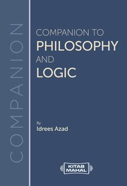 Cover of: Companion To Philosophy And Logic |