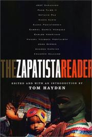 Cover of: The Zapatista Reader | Tom Hayden