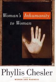 Cover of: Woman's Inhumanity to Woman