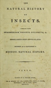 Cover of: The natural history of insects