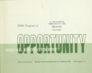 USDA progress in equal employment opportunity