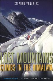 Cover of: Lost Mountains