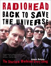 Cover of: Radiohead: Back to Save the Universe