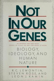 Cover of: Not in our genes