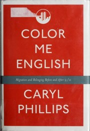 Cover of: Color me English | Caryl Phillips