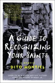 Cover of: A guide to recognizing your saints | Dito Montiel