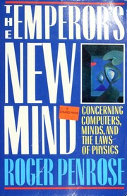 Cover of: The emperor's new mind | Roger Penrose