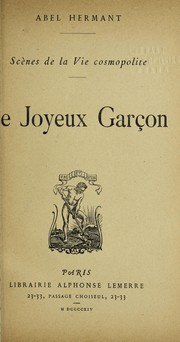 Cover of: Le joyeux garc ʹon
