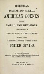 Cover of: Historical, poetical and pictorial American scenes
