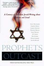 Cover of: Prophets Outcast