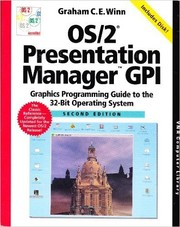 OS/2 Presentation Manager GPI by Graham C. E. Winn