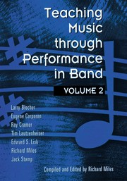 Cover of: Teaching Music Through Performance in Band, Vol. 2