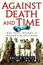 Cover of: Against Death and Time