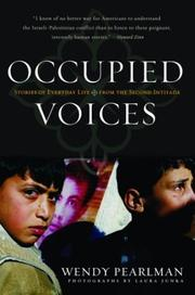 Cover of: Occupied Voices | Wendy Pearlman